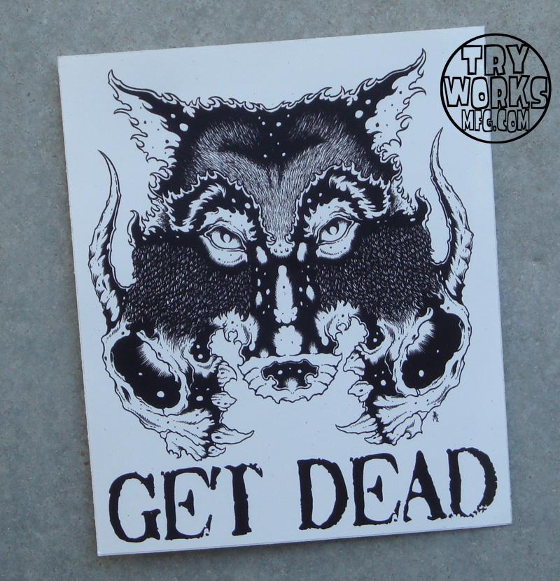 Get Dead Wolf WHT  WM