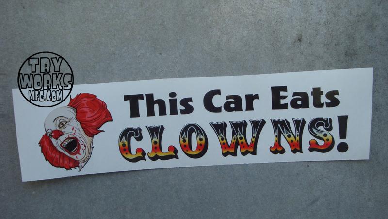 This Car eats Clowns WM